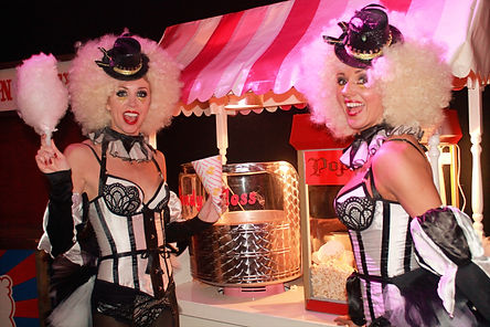 WinterWorks Entertainment - Candy Floss Girls - Giveaways - Hospitality - Events