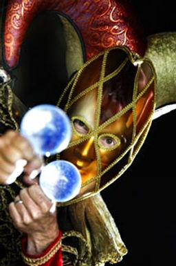 WinterWorks Entertainment - Venetian Masquerade - Jester - event entertainment - Crystal Jugglers - event entertainment