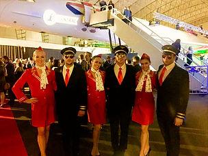 WinterWorks Entertainment - Airline Theme - Air Hostess - Pilots - Actors - Events