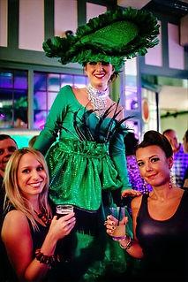 WinterWorks Entertainment - Spring Garden Theme - Garden stilt walker - hospitality - mix & mingle - event entertainment - liverpool