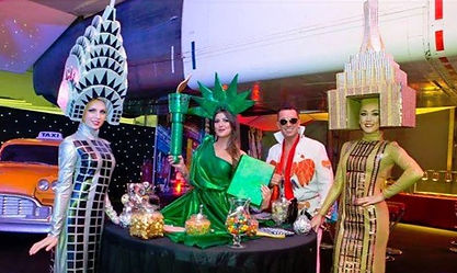 WinterWorks Entertainment - Statue of Liberty - Living Table - Hospitality - Events