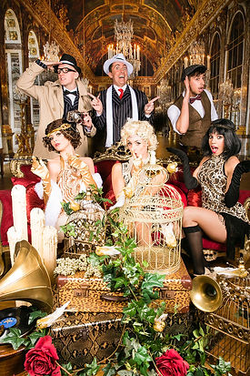 WinterWorks Entertainment - Gatsby - 1920's - Actors - Hospitality - Dancers & Acts - Show theme - Events