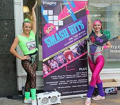 WinterWorks Entertainment - 80s entertainment - dancers - Flash Mob - Event Entertainment