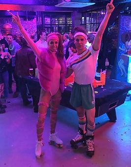 WinterWorks Entertainment - Studio 54 Entertainment - 70s Disco Entertainment - Roller skaters - event entertainment