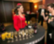 WinterWorks Entertainment - Circus - Circus theme - Usherette - Usherette Living Table - Canapés & Giveaways - Meet and Greet - Hospitality - Event Entertainment