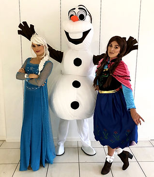 """WinterWorks Entertainment present """"Ice Princess"""". The perfect sing and dance along show for any family event, shopping centre or private party. Book now to see our superstars at your next event."""
