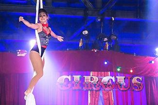 WinterWorks Entertainment - Circus - circus theme - Circus show - aerial - silks - aerialist - event entertainment