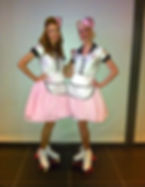 WinterWorks Entertainment - Roller Skaters - American Diner - Events