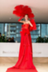 WinterWorks Entetainment - Red Carpet Lady - Grand entrance - Hospitality - Luxury events