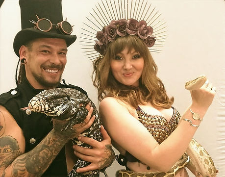 WinterWorks Entertainment - Snake Charmers - Events