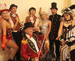 WinterWorks Entertainment - Circus - Circus Show - Circus Theme - Jugglers - Ring Master - Mine Clown - Showgirl - Jugglers - Unicycle - Fire performers - Event Entertainment  .jpg