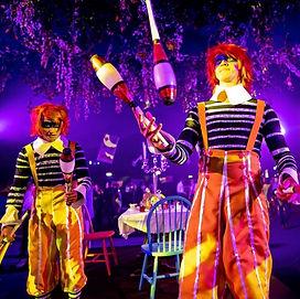 WinterWorks Entertainment - Alice In Wonderland - Tweedle Dee & Dumb - Jugglers - Events