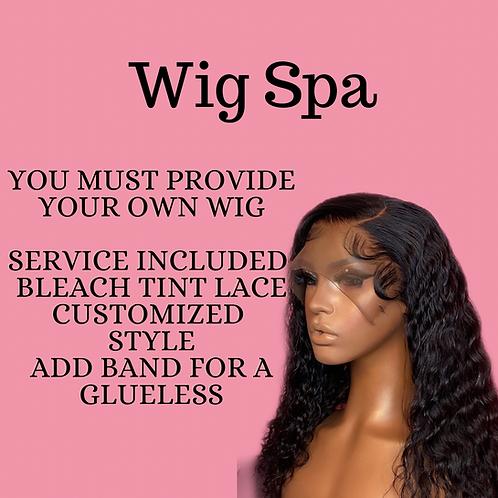 Wig spa