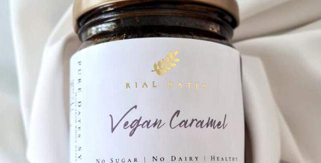 Vegan Caramel Pure Dates Syrup