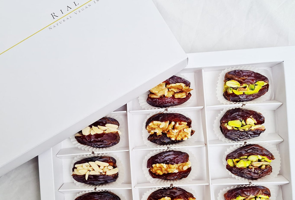 Exclusive Box Stuffed Nuts Dates