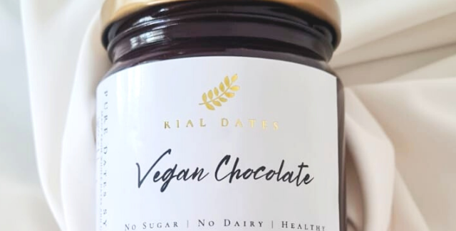 Vegan Chocolate Pure Dates Syrup