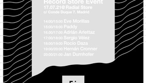 Record Store Event @ Radial Store   17.07.2021