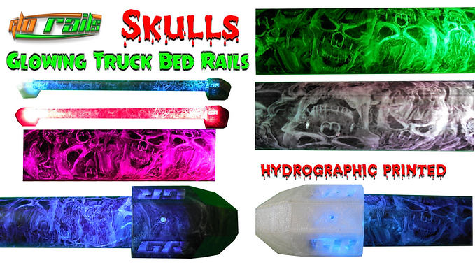 RGB Bluetooth Hydrographic printed Glorails
