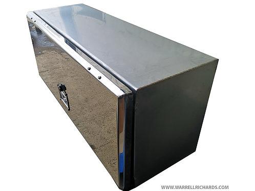 W500XD250XH250 Stainless, Mirrored lid truck toolbox, Renault premium range