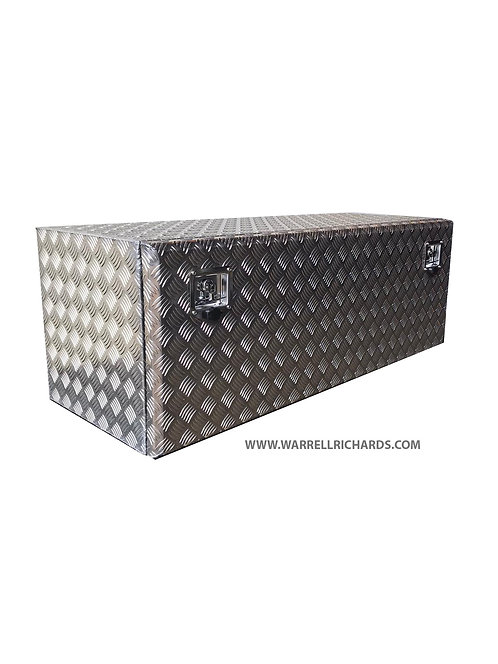 W1200XD500XH500 Aluminium chequer tool box, Truck box, DAF / Iveco
