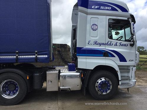 W395XD500XH650 Full Aluminium Truck Toolbox DAF, Scania, Volvo & More