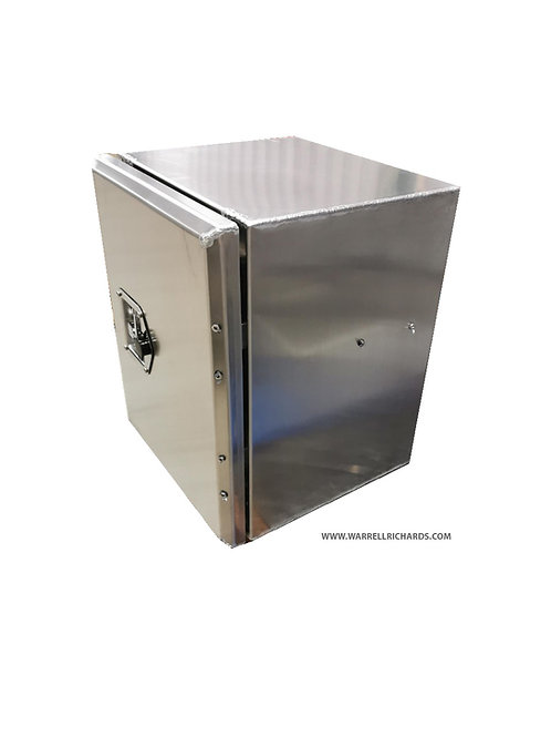 W395XD500XH500 Aluminium Tractor Unit Toolbox, Side Mount Toolbox, ChassisBox