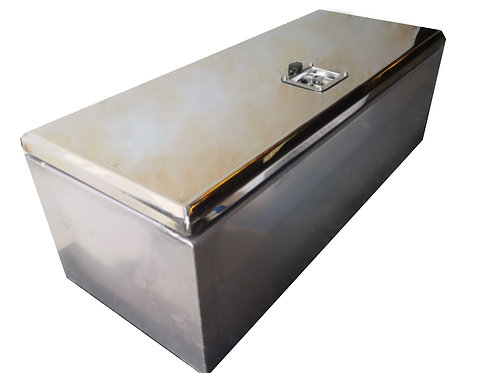 W1000XD400XH350 Matte Stainless, Mirrored Stainless Door Toolbox