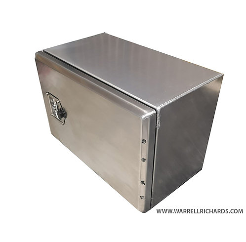 W600XD360XH400 Aluminium truck toolbox, Tractor unit side locker storage