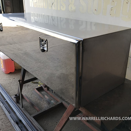 W1500XD500XH500 Stainless, Mirrored lid truck tool box