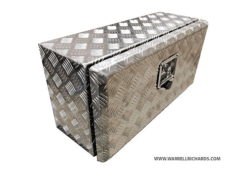 W500XD250XH250 Aluminium chequer tool box, Truck box, Recovery strap box