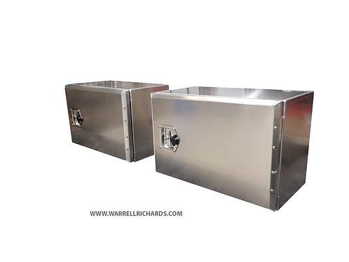 W600XD360XH400 Aluminium truck toolbox, Tractor unit side locker storage
