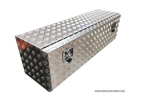 W1200XD350XH300 Aluminium chequer toolbox, Truck box, Ford transit tipper
