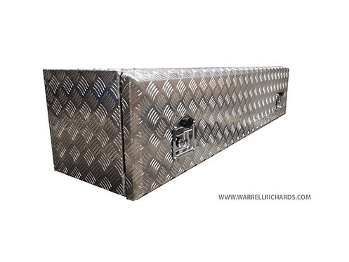 W1400XD400XH400 Aluminium chequer tool box, Truck box 7.5T, Iveco cargo / DAF CF