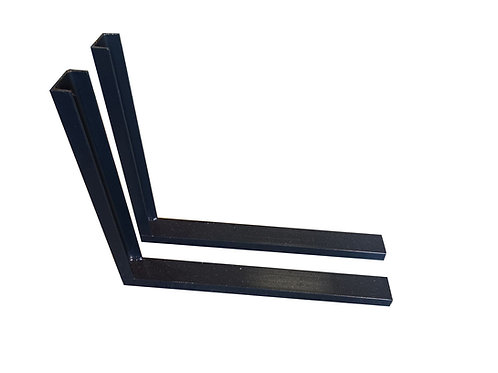 Toolbox Mounting Brackets For Truck Toolboxes - 3 sizes available