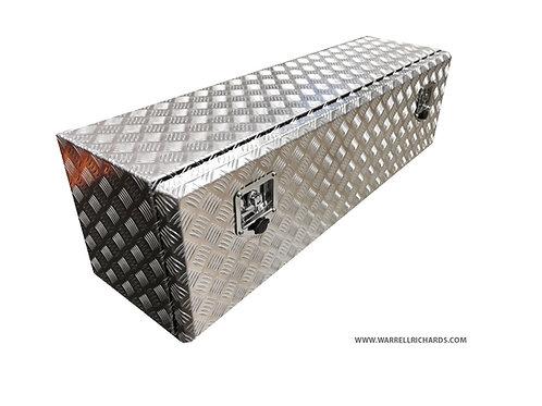 W1200XD400XH400 Aluminium chequer tool box, Truck box, Tipper / Drop side