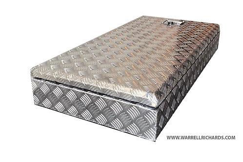 W1060xD480xH120 Aluminium chequer toolbox, Truck box, Catwalk Storage, Locker