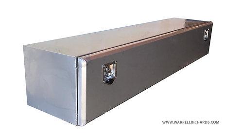 2000x400x400 Matt stainless truck toolbox, Low loader, Underbody storage box