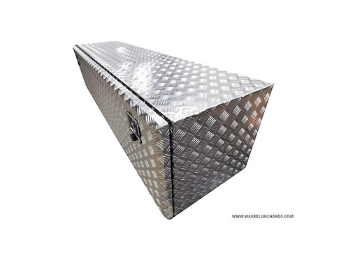 W1400XD500XH500 Aluminium chequer tool box, Truck box 7.5T, Iveco cargo / DAF CF