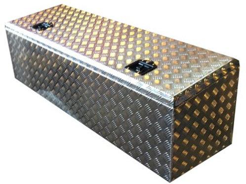 W1900XD600XH600/500 Slanted Chequer Plate Back Box - Aluminium Truck Toolbox