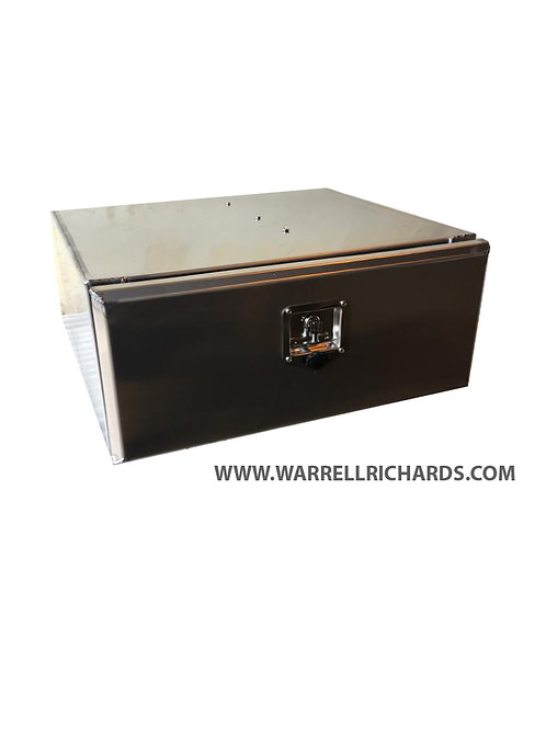 W800XD300XH300 Stainless Low Loader Truck Toolbox, Thompson Tipper side locker