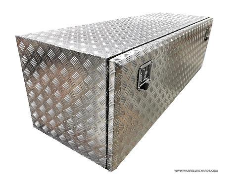W1600XD400XH400 Aluminium chequer tool box, Truck box, Trailer storage