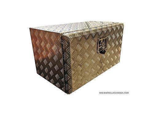 W600XD350XH300 Aluminium chequer tool box, Truck box, recovery bed, catwalk box