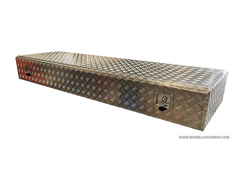 W2000XD600XH250 Aluminium chequer toolbox, Truck box, Low loader trailer storage