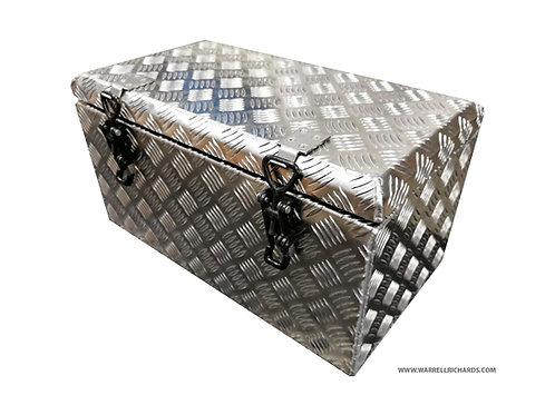 W550XD300XH300 Aluminium chequer tool box, Pick up truck box, 4x4, Landrover