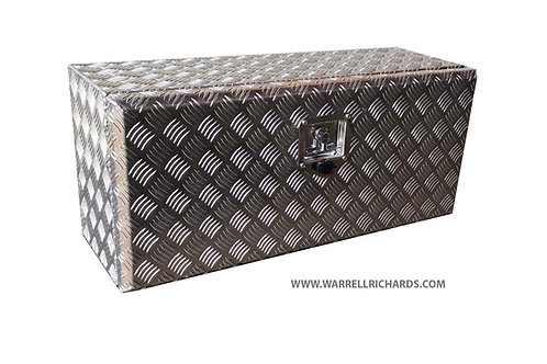 W800XD600XH600 Aluminium chequer tool box, Truck box, Recovery Truck Strap box