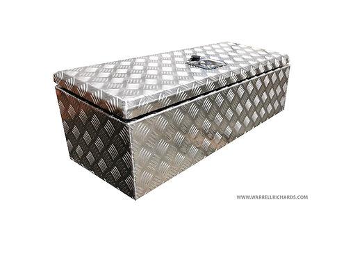 W840XD330XH290/260 Aluminium chequer tool box, Truck box, Volvo FH catwalk