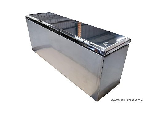 W1100XD300XH450 Stainless,Mirrored lid truck toolbox, Bench storage no lock