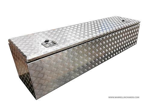 W1900XD600XH600/500 Aluminium chequer tool box, Truck box, Transit tipper