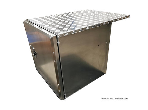 W600xD600xH600 Stainless truck toolbox Scania S Series R Series Side locker box
