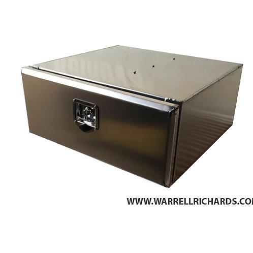 W800XD500XH300 Low Loader Aluminium Tipper trailer toolbox